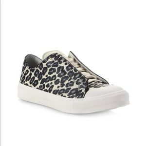 New Men Alexander McQueen Leopard Print Sneakers
